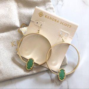 Kendra Scott • Elora Gold Hoop Earrings